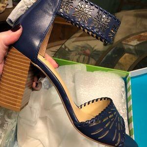 💙C Wonder blue sandal shoes💙